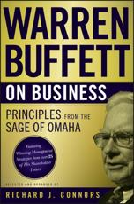 Warren Buffett on Business - Warren Buffett (author), Richard J. Connors (selection)