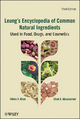 Leung's Encyclopedia of Common Natural Ingredients - Ikhlas A. Khan;  Ehab A. Abourashed
