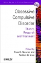 Obsessive-compulsive Disorder - Theory, Research  and Treatment - Ross G. Menzies; Padmal de Silva