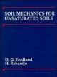 Soil Mechanics for Unsaturated Soils - D. G. Fredlund; H. Rahardjo