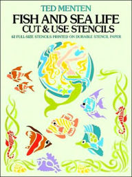 Fish and Sea Life Cut & Use Stencils - Ted Menten
