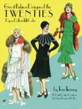 Great Fashion Designs of the Twenties Paper Dolls - Tierney, Tom / Paper Dolls