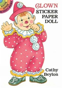 Clown Sticker Paper Doll - Beylon, Cathy