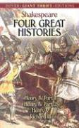 Four Great Histories: Henry IV Part I, Henry IV Part II, Henry V, and Richard III