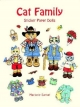 Cat Family Sticker Paper Dolls - Marjorie Sarnat