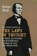 An Investigation of the Laws of Thought