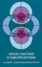 Special Functions and Their Applications - N. N. Lebedev