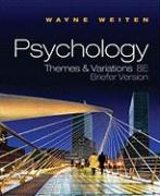 Psychology: Themes & Variations [With Concept Charts for Study Psychology]