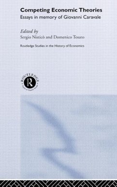 Competing Economic Theories: Essays in Honour of Giovanni Caravale - Nistico, Sergio Tosato, Domenico