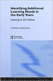 Identifying Additional Learning Needs In The Early Years - Christine Macintyre