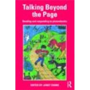 Talking Beyond the Page: Reading and responding to picturebooks - Evans; Janet