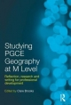 Studying PGCE Geography at M-level - Clare Brooks