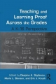 Teaching and Learning Proof Across the Grades - Despina A. Stylianou; Maria L. Blanton; Eric J. Knuth