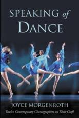 Speaking of Dance - Joyce Morgenroth