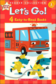 Let's Go!: 4 Easy-to-Read Books - Scholastic Inc. Staff