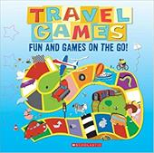Travel Games: Fun and Games on the Go! [With Mini Dice and Magnetic Play Boards and Magnetic Play Pieces] - Tangerine Press