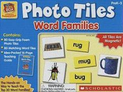 Little Red Tool Box: Photo Tiles: Word Families