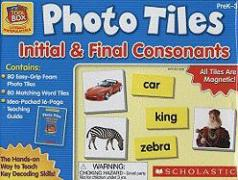 Little Red Tool Box: Photo Tiles: Initial & Final Consonants
