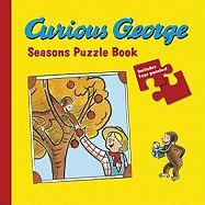 Curious George Seasons Puzzle Book (Curious George Board Books)