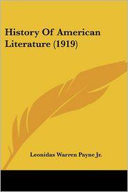 History Of American Literature (1919) - Leonidas Warren Payne Jr.