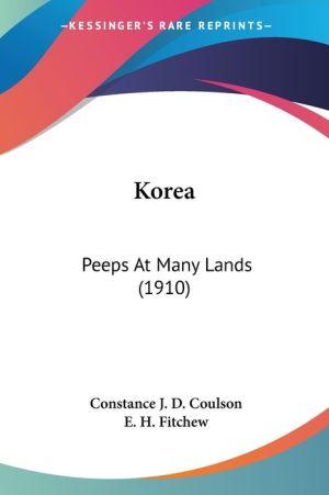 Kore: Peeps at Many Lands (1910)