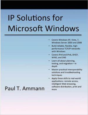 Ip Solutions, 1st Edition - Paul Ammann