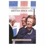 Longman Companion to Britain Since 1945