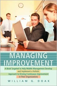 Managing Improvement - William Doak