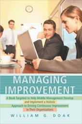 Managing Improvement - Doak, William