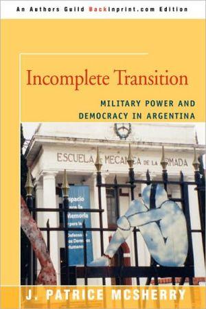 Incomplete Transition - J. Patrice Mcsherry