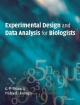 Experimental Design and Data Analysis for Biologists - Gerry P. Quinn