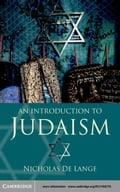 An Introduction to Judaism - Lange, Nicholas de