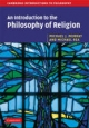 Introduction to the Philosophy of Religion - Michael J. Murray;  Michael C. Rea