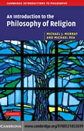An Introduction to the Philosophy of Religion - Murray,Michael J.