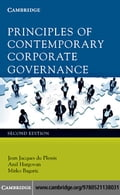 Principles of Contemporary Corporate Governance - du Plessis, Jean Jacques
