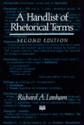 A Handlist of Rhetorical Terms, Second Edition