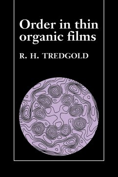 Order in Thin Organic Films - Tredgold, R. H.