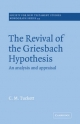 Revival Griesbach Hypothes - Christopher Tuckett