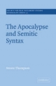 The Apocalypse and Semitic Syntax - Steven Thompson