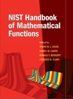 NIST Handbook of Mathematical Functions [With CDROM]