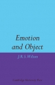 Emotion and Object - John R. S. Wilson