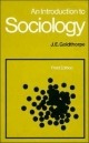 An Introduction to Sociology - J. E. Goldthorpe