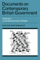 Documents on Contemporary British Government: Volume 2, Local Government in Britain - Martin Minogue