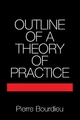 Outline of a Theory of Practice - Pierre Bourdieu