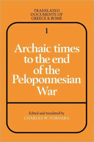 Archaic Times to the End of the Peloponnesian War - Cambridge University Press