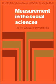 Measurement in Social Science: The Link between Theory and Data - Richard A. Zeller