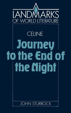 Louis-Ferdinand Celine, Journey to the End of the Night - Sturrock, John