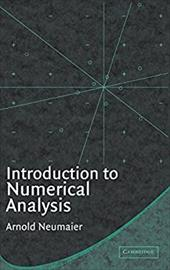 Introduction to Numerical Analysis - Neumaier, A. / Neumaier, Arnold