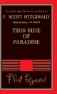 This Side of Paradise - F. Scott Fitzgerald; James L. W. West