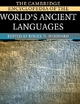 The Cambridge Encyclopedia of the World's Ancient Languages - Roger D. Woodard